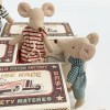 Jucarie textila - MOUSE IN MATCHBOX - BIG SISTER - Maileg