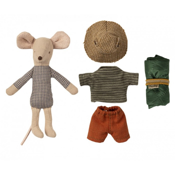 Jucarie textila - HIKER MOUSE - BIG BROTHER - Maileg