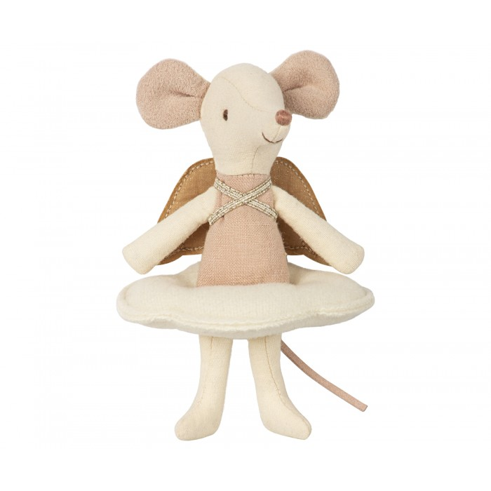 Jucarie textila - ANGEL MOUSE - BIG SISTER IN BOOK - Maileg