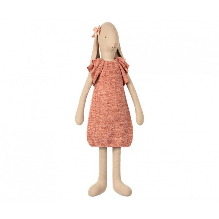 Jucarie textila - BUNNY SIZE 5 - KNITTED DRESS - Maileg