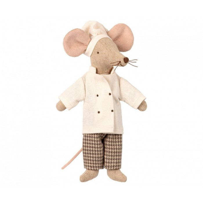 Jucarie textila - CHEF MOUSE - Maileg