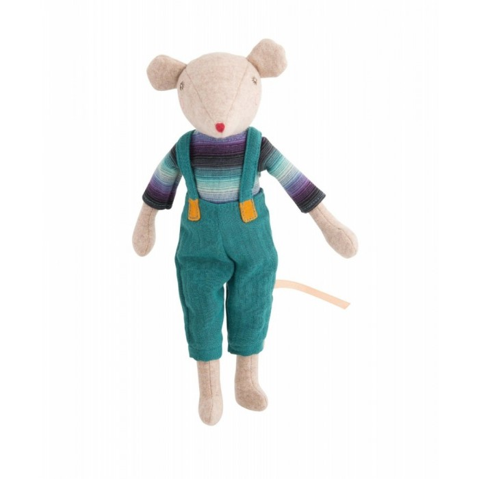 Jucarie textila - Noisette Big Brother Mouse - La Famille Mirabelle - Moulin Roty