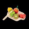Set de fructe din lemn pentru feliat - Plan Toys