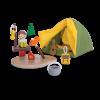 Jucarie din lemn de rol - Set pentru camping - Plan Toys