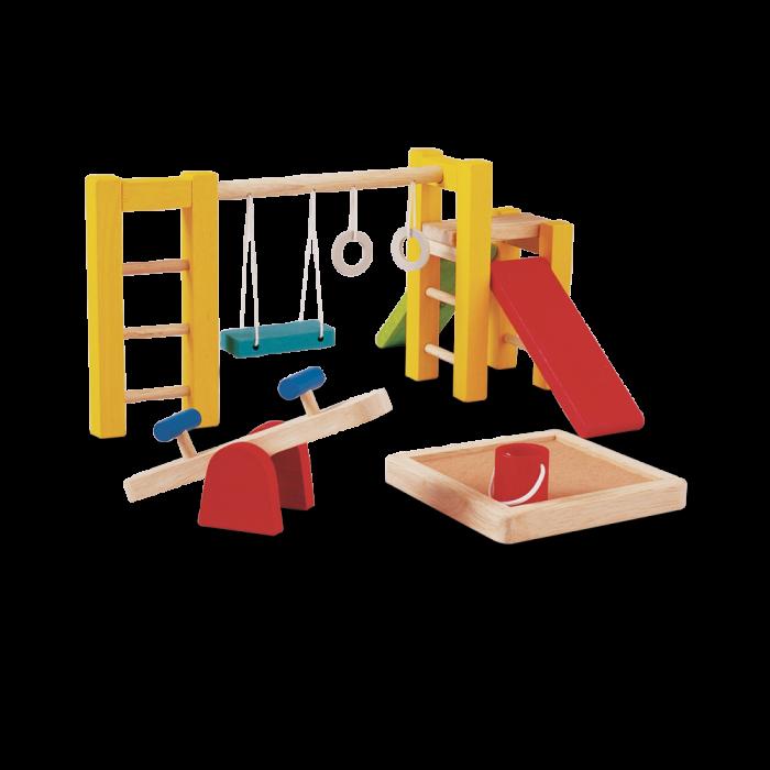 Accesorii din lemn pentru casute de papusi - Loc de Joaca - Plan Toys