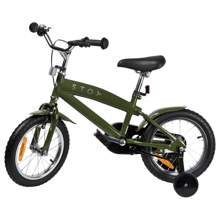 "Bicicleta 14"" Cruiser - Army Green - STOY"