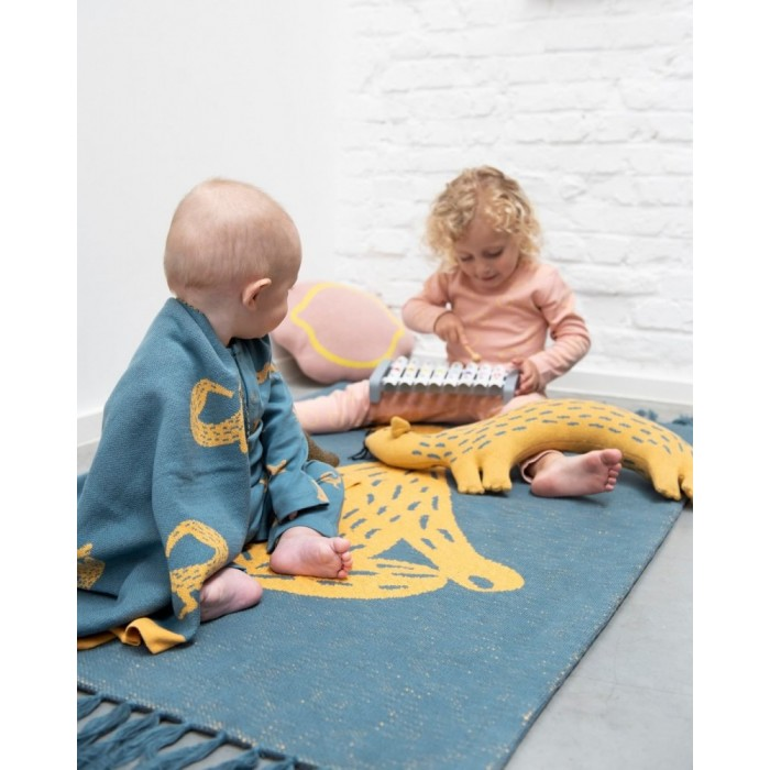 Covor din bumbac organic - 80 x 120 cm - Whippy Weasel - Trixie
