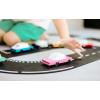 "Set ""Open Road"" 12 piese Waytoplay și 2 mașini Candylab Toys"