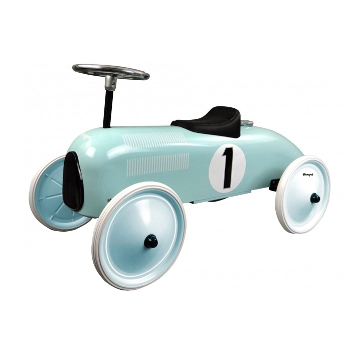 Masinuta ride-on retro - mint - Magni Toys