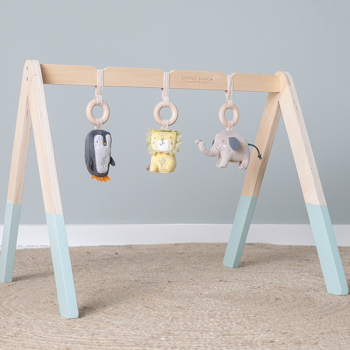 Centru de activitati Baby Gym - mint - Little Dutch